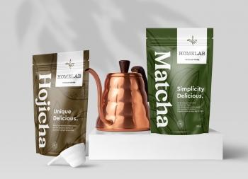 Homelab粉末饮料包装设计