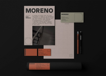 Moreno建筑事务所品牌VI设计