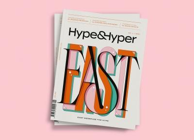 时尚生活杂志HypeHyper品牌形象设计