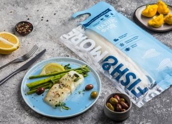 Fish&More冷冻鱼和海鲜产品包装设计