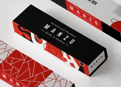 Manzo寿司品牌VI概念设计