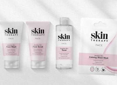 Skin Therapy护肤品包装w88手机官网平台首页