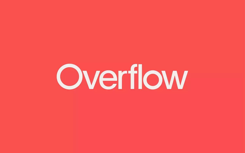 Overflow慈善平台品牌形象设计