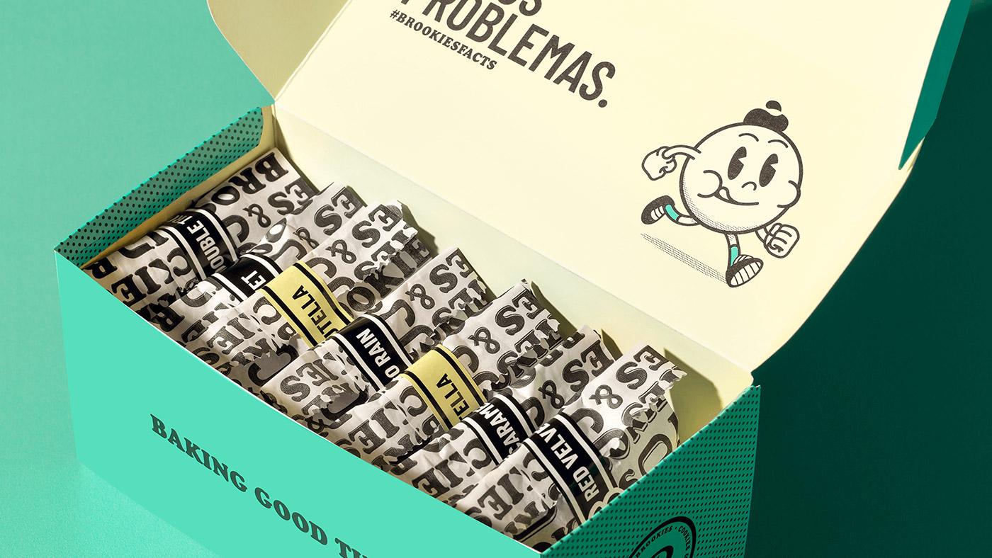 Brookies曲奇饼干包装设计