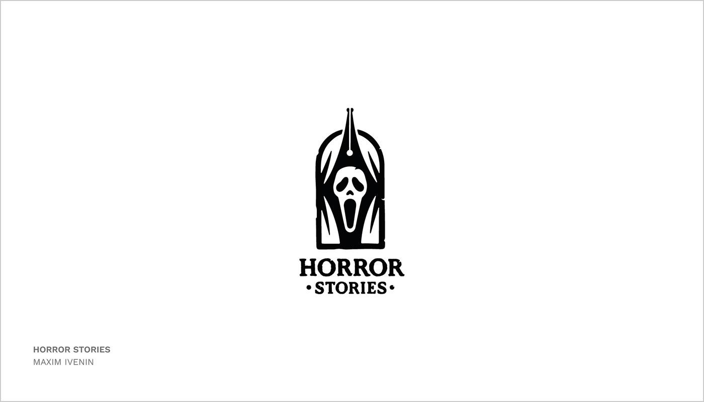 18款钢笔主题logo设计欣赏