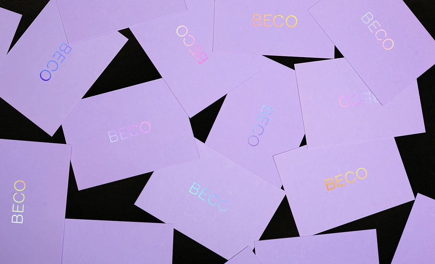 Beco Creative Studio设计工作室品牌和视觉识别设计