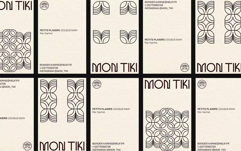 MON TIKI手工配饰品牌形象设计