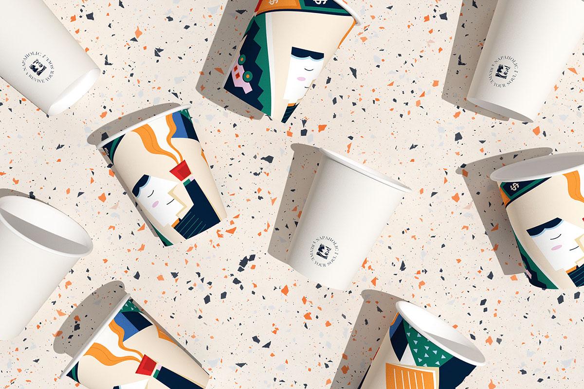 Napaholic Coffee咖啡品牌形象设计