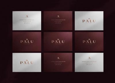 PALU餐饮品牌视觉VI设计