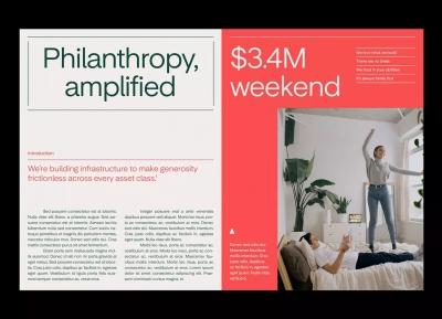 Overflow慈善平台品牌形象w88手机官网平台首页