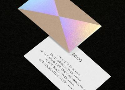 Beco Creative Studio设计工作室品牌和视觉识别设