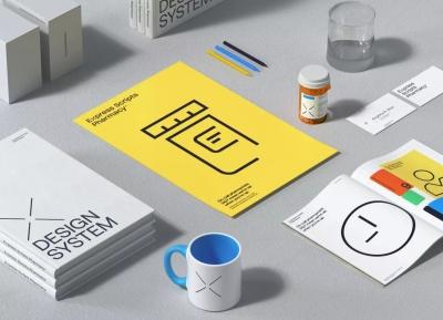 Express Scripts Pharmacy药房品牌VI设计