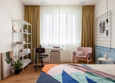 創意多彩的室內設計靈感:4個現代清新的家居