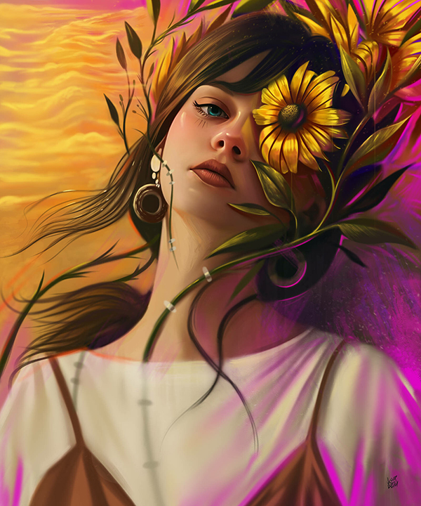 Yasar VURDEM明星肖像插畫設計