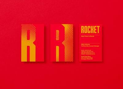 銷售代理機構Rocket品牌形象設計