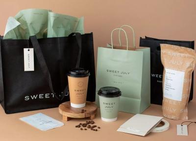 Sweet July咖啡店品牌形象w88手机官网平台首页