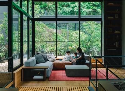 绿树环绕!宁静自然的日本住宅w88手机官网平台首页