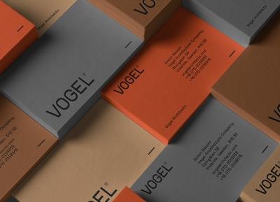VOGEL Architects建筑事务所品牌识别w88手机官网平台首页