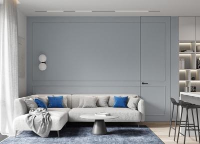 舒缓心情的蓝色!2间宁静舒适的现代公寓