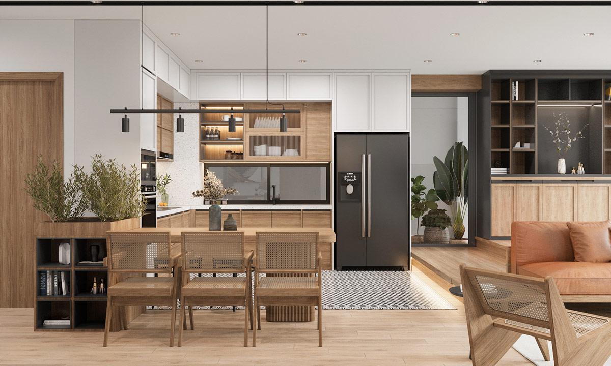 北欧极简和日式美学的结合,营造温馨家居空间
