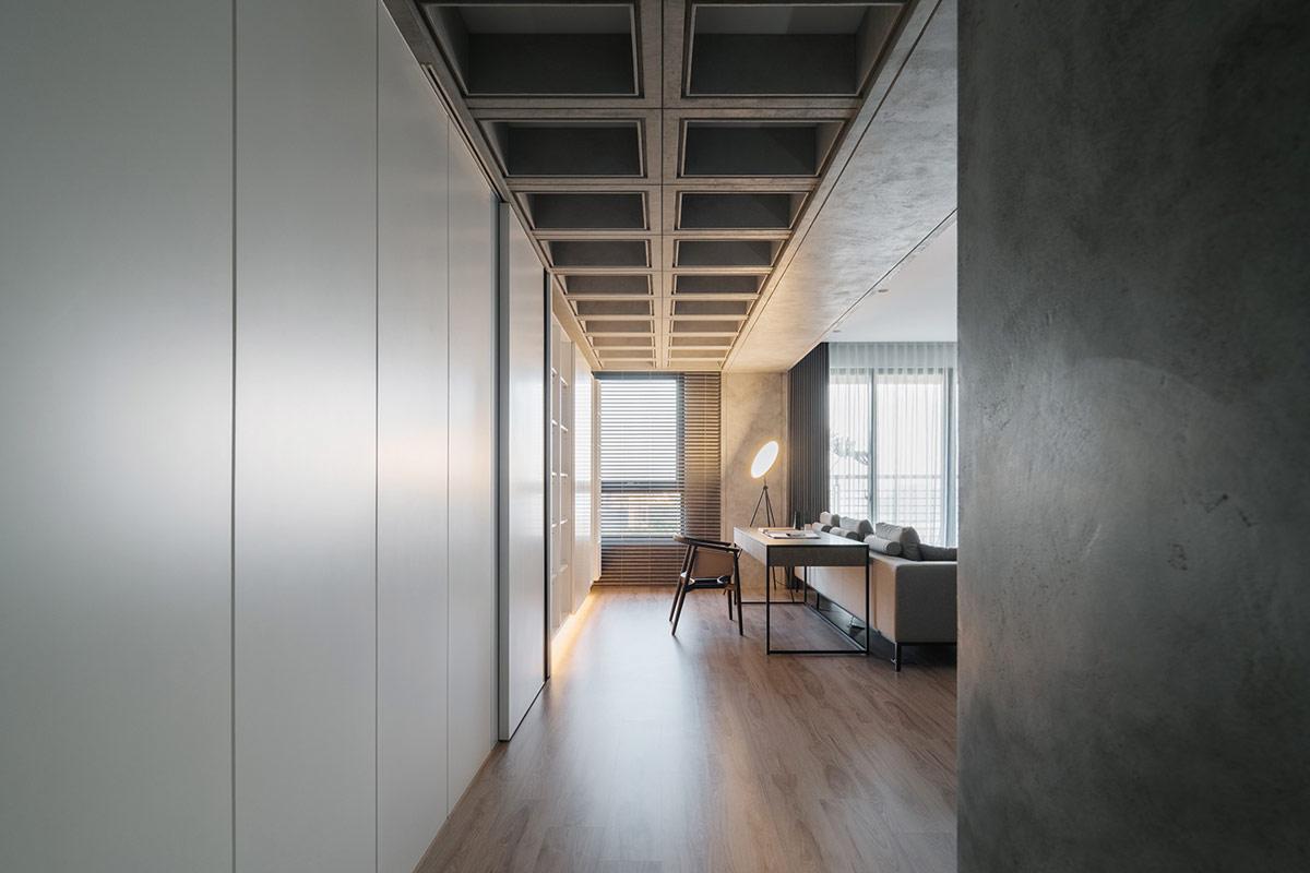 开放,阳光明媚!灰白极简风格现代公寓w88手机官网平台首页