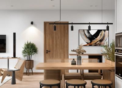 北歐極簡和日式美學的結合,營造溫馨家居空間