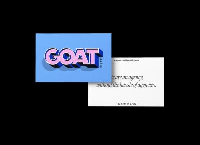 GOAT Paris品牌视觉w88手机官网平台首页