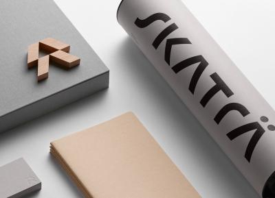 莫斯科建筑公司Skaträ品牌形象w88手机官网平台首页