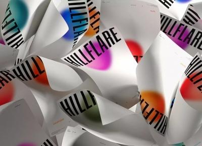 Hillflare初创公司品牌形象w88手机官网平台首页