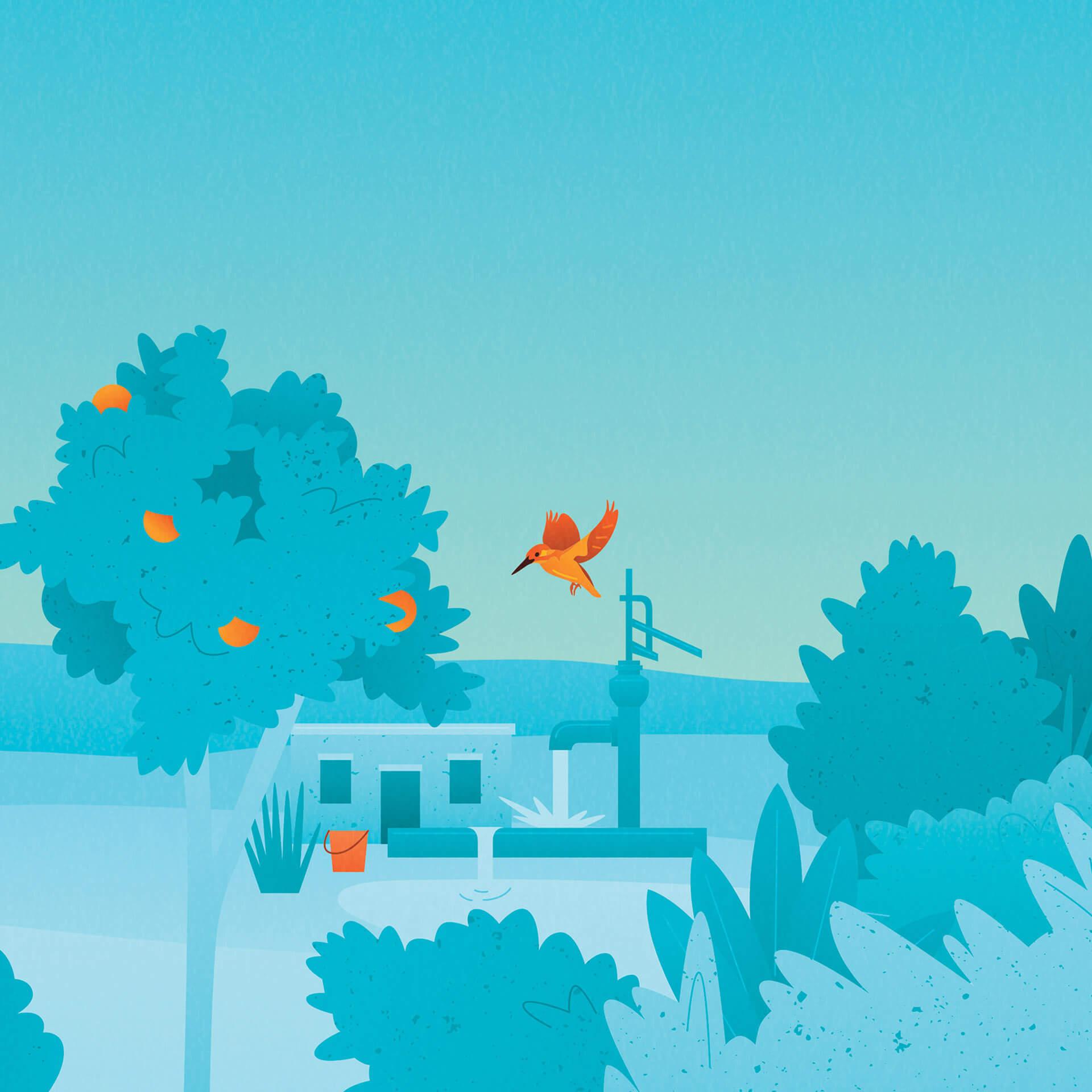 和谐的自然插画!Selfless by Hyram护肤品包装w88手机官网平台首页