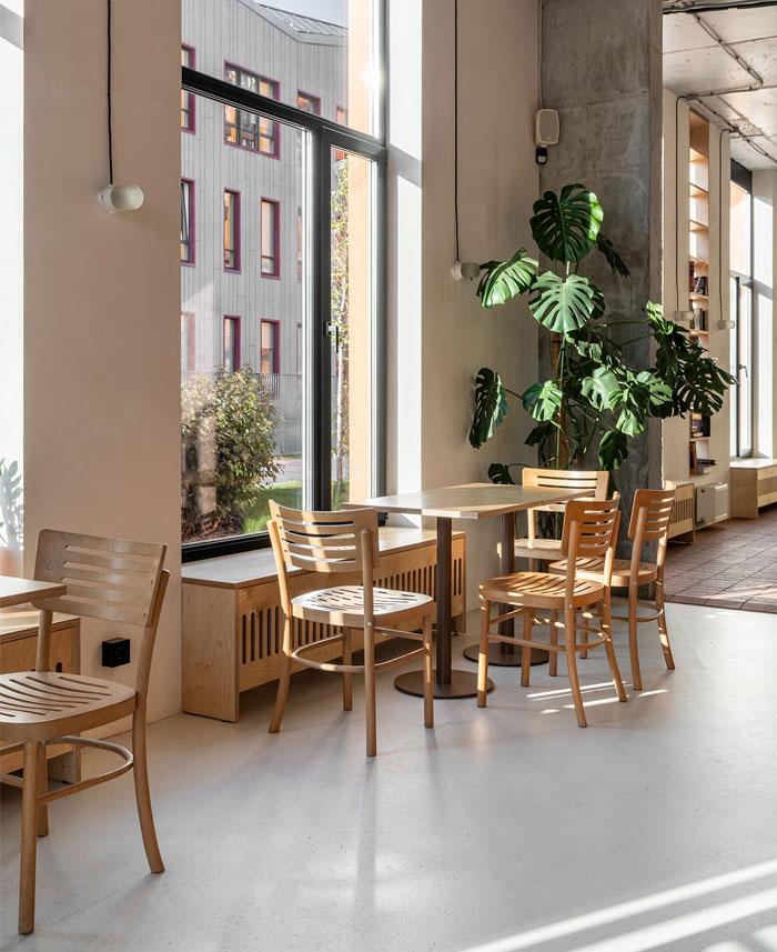 温馨的工业风!Cafe 128咖啡馆空间w88手机官网平台首页
