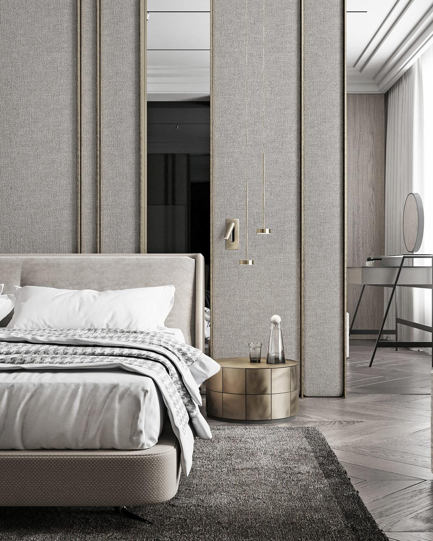 时尚浅灰色+清新白!低调奢华的家居空间