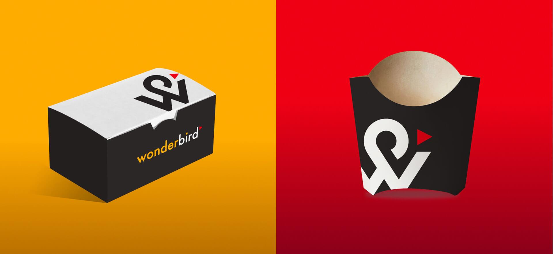 Wonderbird快餐品牌视觉w88手机官网平台首页