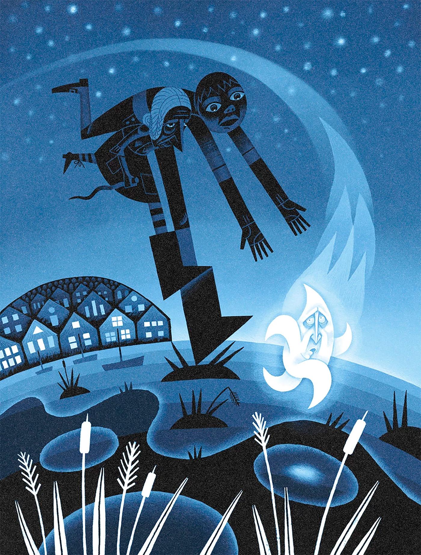 Miriam Martincic充满想象力的插画作品