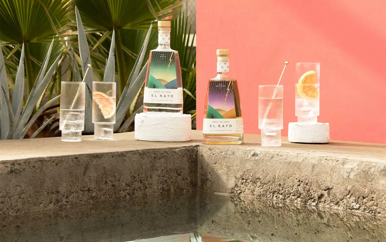 El Rayo龙舌兰酒包装w88手机官网平台首页