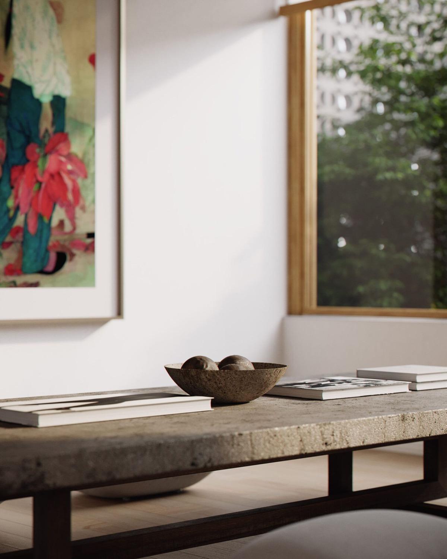 宁静感觉的现代日式风格室内w88手机官网平台首页
