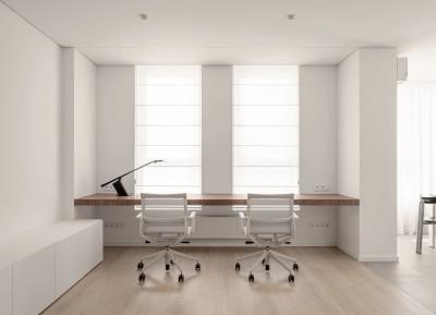 白色+木纹!极简主义风格的极致美感