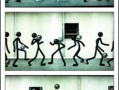 NIKE--地铁站广告设计欣赏
