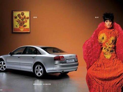 奥迪汽车经典广告创意