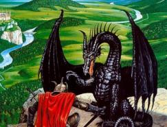 龍的插畫(2)
