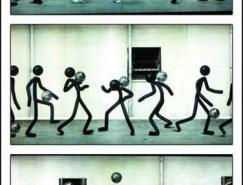 耐克的地铁平面广告欣赏