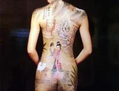 人体彩绘艺术欣赏