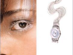 swatch手表的创意广告设计