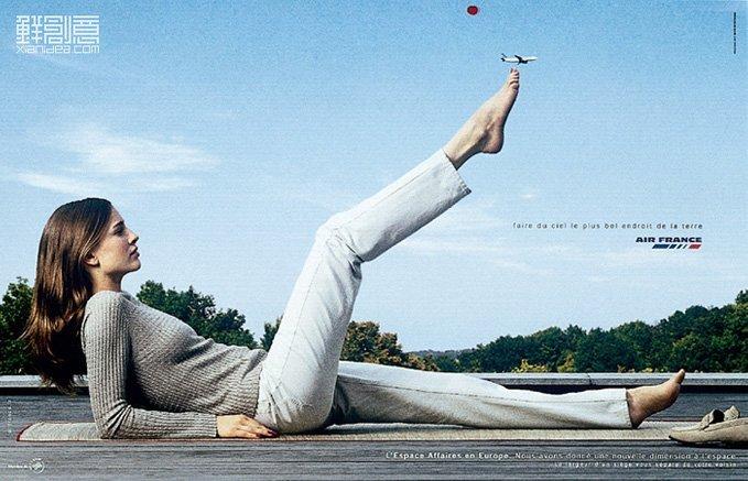 Nissan Of Mobile >> 法国航空系列创意广告欣赏 - 设计之家