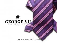 一组经典的领带广告摄影