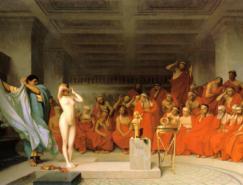 最早裸體模特芙麗涅--當時雅典最美的女人