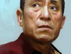 中國電影導演手繪寫實-張藝謀