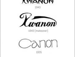 CANON标志的演化