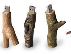 绝对环保--树枝USB