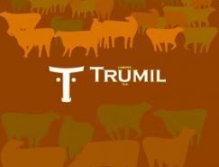 TRUMIL牛奶公司VI設計